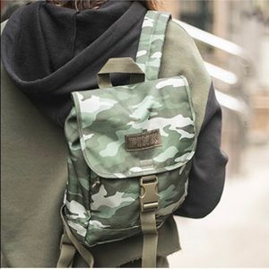 Victoria secret PINK camo backpack